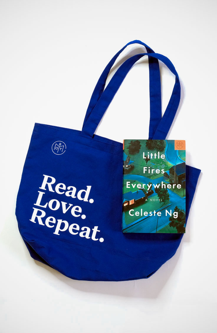 Read.Love.Repeat. Tote by Book of the Month