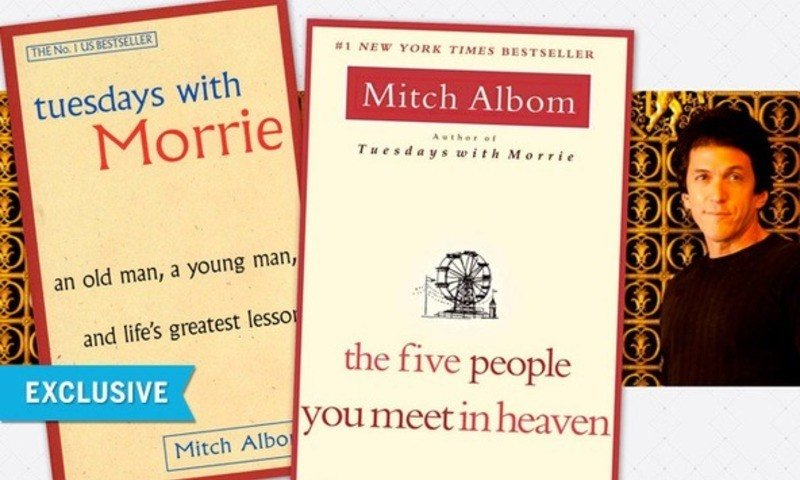 Cover image for the blog post, Mitch Albom on Book of the Month